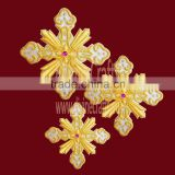 Elegant Embroidered Cross