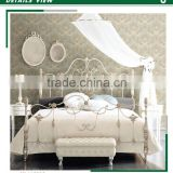 low price embossed vinyl wallpaper, light blue european damask wall sticker for closet room , new fashion wall decal deco