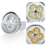 Dimmable LED Light Spotlight Lamp Bulb Warm White & White 4W GU10 185-265V Energy-Saving LED Lamps Long Service Life