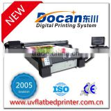 Docan M10 uv curable flatbed printer MDF wood furniture glass door printer 8 heads/colors with konica head or ricoh head option