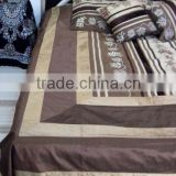 Handmade Brocade Silk velvet Bedding set India