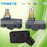 panel mount cross roller plunger type magnetic blowout micro switch/dc voltage limit switch