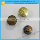 Diy golden and silver metal buttons for gifts , craft, kids handicraft ,mixed buttons,clothing