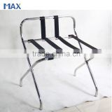 stainless steel back metal folding luggage rack for hotels                                                                         Quality Choice