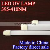 LED UV lamp tube T8 395-410nm UV blue light lamp