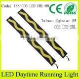 Best selling car products led cob daytime running light slim 6000 power light for honda city