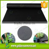 150gr Factory price black garden pp agriculture spunbond non woven ground cover fabric