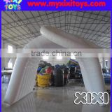 XIXI white inflatable Marathon finish line tunnel arch                                                                                                         Supplier's Choice