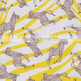 Animal design of printing foil for leather