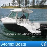 6m CE approved Fiberglass Fishing boat (600 Hard Top Fisherman)