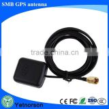 GPS Active Antenna SMB Plug Aerial 3M Cable for Car Vehicle Lowrance Bmw MK1 MK2 MK3 MK4 Thales Navigation GPS Signal Booster