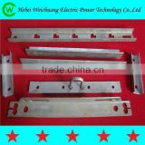 Hebei Weichuang manufacturer high quality electrical cross arm/ angle iron for pole line hardware