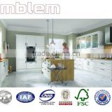 Amblem Quality Guaranteed modern high gloss white lacquer kitchen cabinet(1 year warranty)