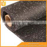 high friction thick / thin cheap rubber floor in roll mat roll