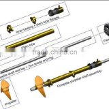 marine equipment boat propeller shaft