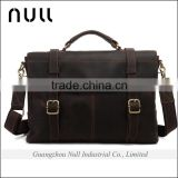 handmade vintage laptop satchel briefcase crossbody shoulder bag mens genuine leather messenger bag
