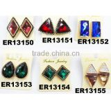 cheap fake diamond stud earring wholesale