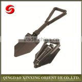 multifunction carbon steel military folding shovel