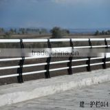 pvc coating bridge guardrail country road bridgr guardrail hot sale bridge guardrail