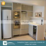 2016 modular elegant kitchen cabinets with acrylic laminate sheet door panel imported from China