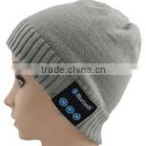 luetooth Wool Beanie Hat Winter Warm Soft Knit Cap with Wireless Headphone Headset Earphone Stereo Speaker Microphone Hands Free