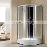 Foshan Lelin aluminum alloy bath shower enclosure cabin vanity with 6mm tempered glass JC-30
