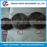 Hot sales kitchen sponge making machine scourer forming machine cleaning ball making machine