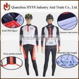 Three color combinations Brand custom cycling jersey polyester mesh motion functional fabric cycling jersey