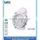 newest design cheap silicon rubber colorful watch