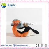 Love plush realistic talking and walking bird toy