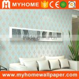 Hot interior decoration beautiful glitter non woven wallpaper                                                                                                         Supplier's Choice