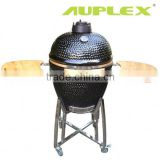 Auplex 21 inch outdoor clay oven smoker kamago bbq grill outdoor barbeque