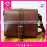 Handmade cowhide retro art snack handbags for woman