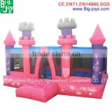 kids air jumping house inflatable jumper castle with slide