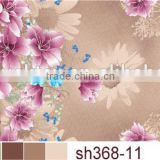 disperse printed polyester plain brushed bed sheet fabric for mattress home textile fabric
