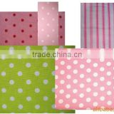 bulk stock lots flannel fabric with cotton reactive pinting