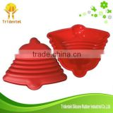 Wholesale Jingle Bell Shaped Christmas cake mold