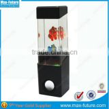 Water Bubble Lamp with Speaker,Water Lamp with Fish Dancing water Speaker