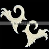white Unusual ear jewelry upper ear piercing jewelry