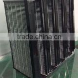Good Quality HVAC Mini Pleat V-bank Activated Carbon Air Filters with ABS frame made in China
