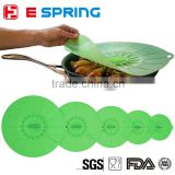 Cooking Flower Petal Unti Spilling Lid Stopper For Pan Cookware Parts Silicone Pot Lid Cover