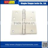 SPG-002F 4inch Loose Pin Flat Head Steel Cabinet Square Corner Furniture Door Hinge