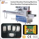 Instant food Packaging Machine, Noodles flow packing machine, Spaghetti wrapping and sealing machine