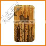 Phone Accessories, customized wood phone case, Bulk Case For Iphone 6, Wooden Case Bamboo Cover
