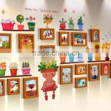 Small House Shape Wooden Photo Frames