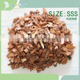 2016 new products hot sale horticulture mulch pine bark