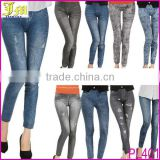 2014 New Fashion Womens Ladies Denim Jeans Sexy Skinny Leggings Jeggings Tights Stretch Pants Trousers