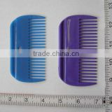 plastic horse mane and tail comb