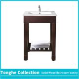 Tonghe Collection Brown Painted Bathroom Vanity