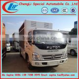 FOTON digital mobile billboard truck for sale, scrolling advertising trucks,advertising truck box